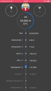 DataSport App Screenshot 3